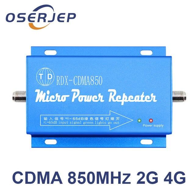 850 MHz Repeater 2G 3G 4G GSM LTE UMTS CDMA Booster 850 MHz Điện Thoại Di Động/Điện Thoại Di Động tín hiệu Repetidor Không Bao Gồm Ăng Ten