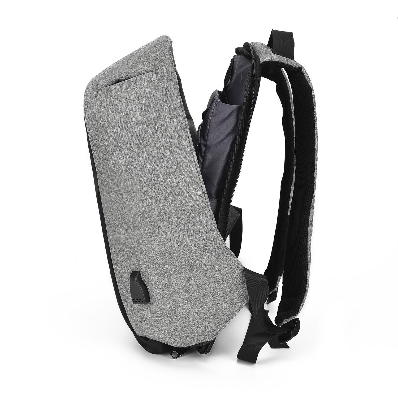 Multifunctionele anti diefstal dubbele schoudertas mannelijke reizen USB opladen rugzak computer schooltas voor vrouwelijke studenten - 3
