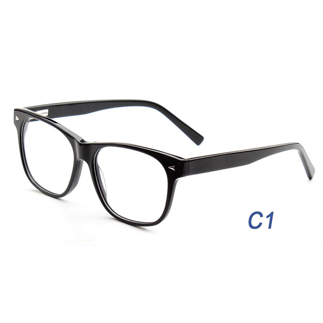 7eb3683f2f79 USOcchiali 6109 Acetate High Quality Eyeglasses Frame Optical Glasses  Fashion Style Prescription Spectacles for Men and Women