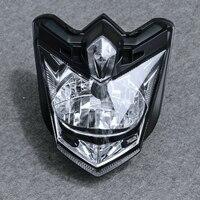 LangXQ akcesoria motocyklowe przednie montaż reflektorów reflektor oświetlenie nadające się do Yamaha FZ8 FZ8N 2010 2011 2012 2013 na