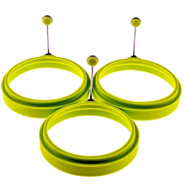 Round Silicone Egg Frying Mold