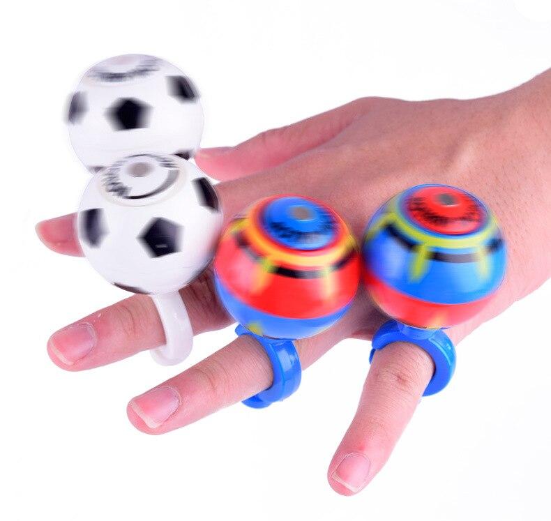 30pcs 4cm plastic LED light-up Luminous Magnetic Ball Toys funny kids Education Fidget Spinner football basketball for 2018