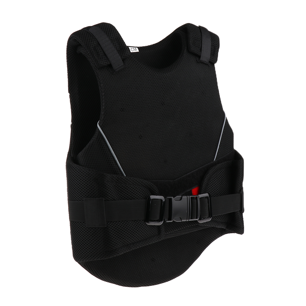 Kids Adjustable Horse Riding Vest Breathable Waistcoat Equestrian Clothes Protective Gear Size S/M/L adjustable pro safety equestrian horse riding vest eva padded body protector s m l xl xxl for men kids women camping hiking