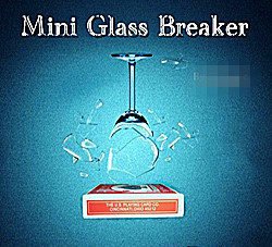 Free Shipping Mini Glass Breaker in Remote control /Magic trick/ bicycle card box/ stage magic/ mentalism стоимость
