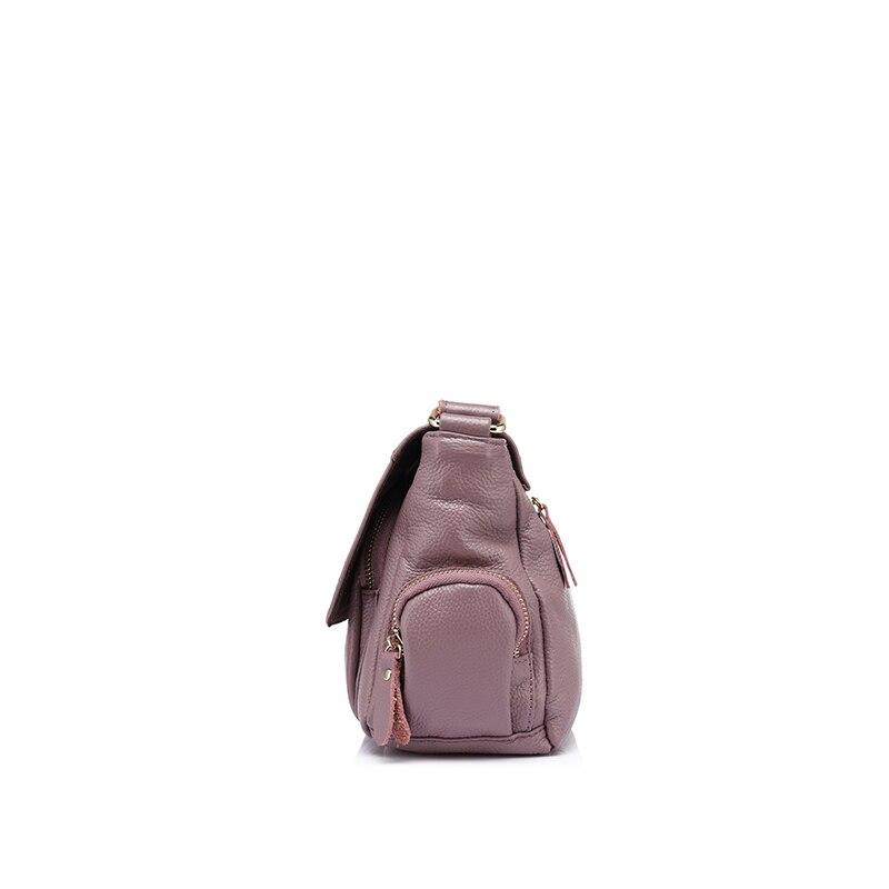 REALER brand women handbags genuine leather shoulder bag female luxury crossbody bag high quality messenger bags designer 2019