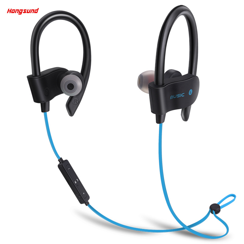 Hongsund New 56S Sport Running Wireless Headphone Bluetooth Earphone Auriculares Stereo fone de ouvido sem fio Headset for Phone showkoo stereo headset bluetooth wireless headphones with microphone fone de ouvido sport earphone for women girls auriculares