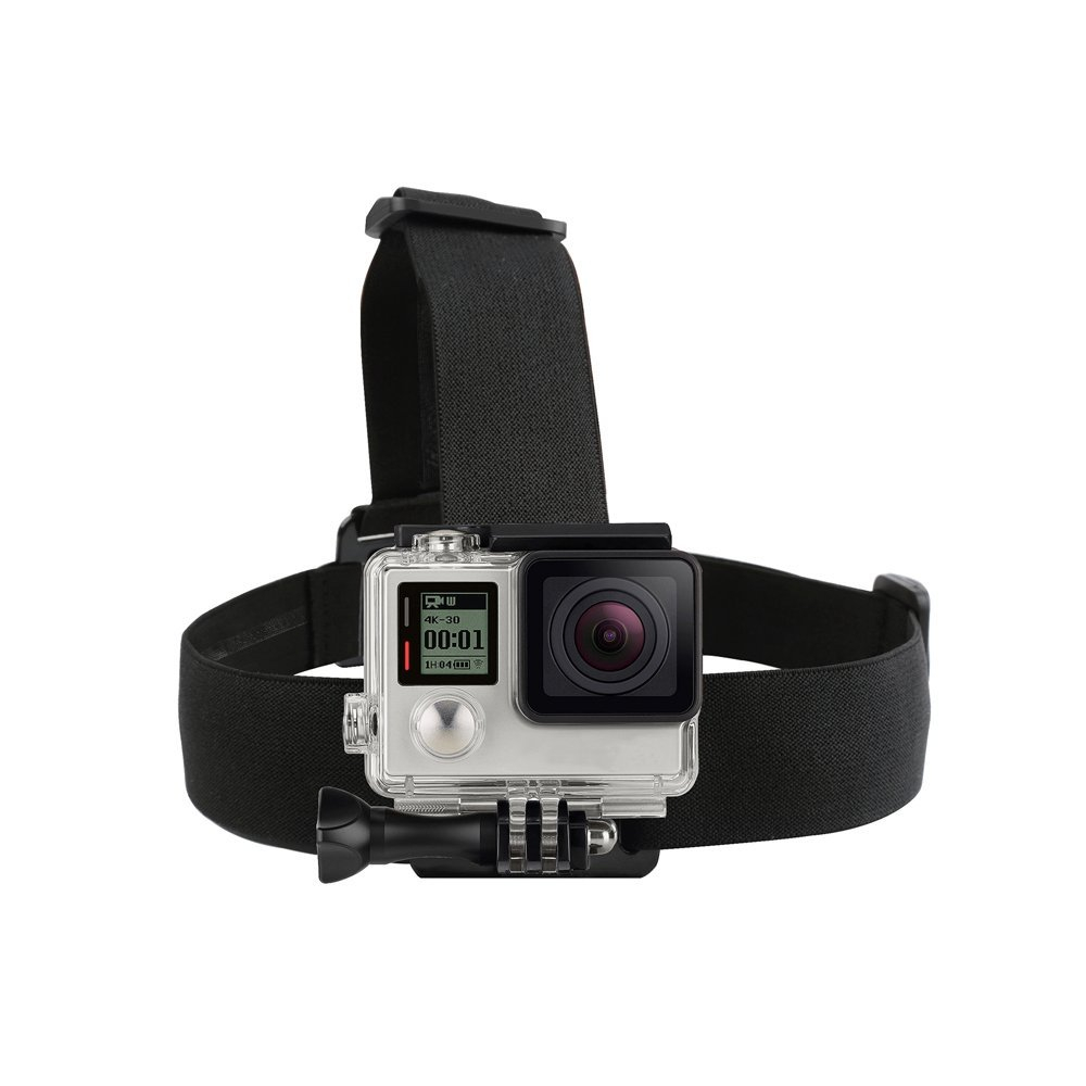 Elastic Harness Head Strap Mount for GoPro Hero 6 5 4 3 Session Xiaomi Yi 4K Eken H9 SJCAM SJ4000 Action Camera Accessory цена