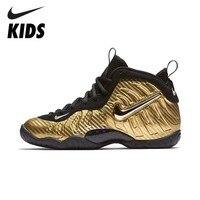 NIKE Оригинальный Foamposite Pro дети Баскетбольная обувь удобные спортивные кроссовки 843755 701