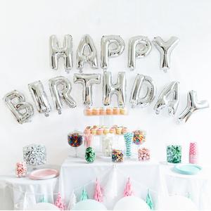 Image 5 - Sapatos de prata 18 balões para decoração, balões de metal para decoração de festas de aniversário adulto e festa de feliz aniversário 40 peças