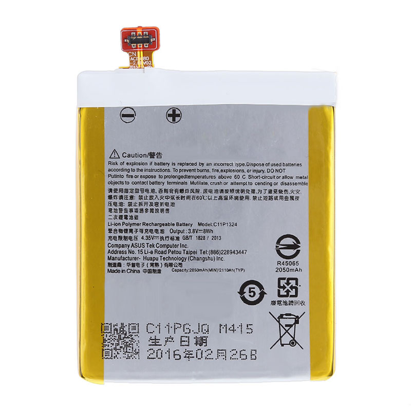 Original high quality C11P1324 Li-ion Polymer Battery for ASUS ZenFone 5 Z5 A500 A500CG A501CG A500KL Mobile Phone Battery+tools
