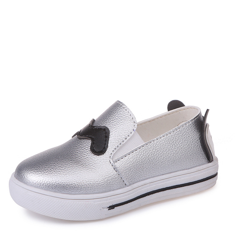 JGSHOWKITO Cartoon Fashion Girls Boys Shoes Kids Casual Flats School Autumn Students Slip-on Loafers For Toddler Boy Girl Shoes
