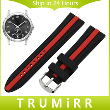 Silicone Rubber Watchband 19mm 20mm 21mm 22mm 23mm 24mm for Hamilton Men Women Watch Band Belt