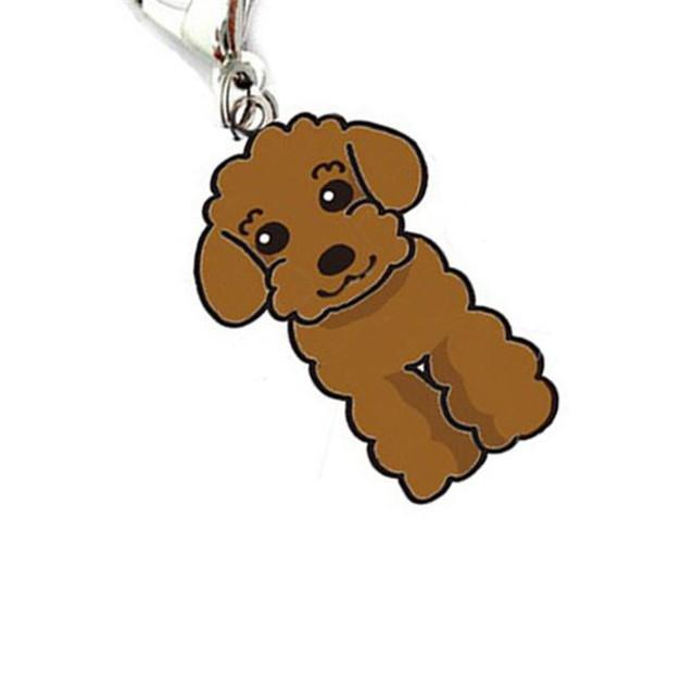 Poodle Pendant Dog Collar Accessory