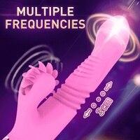 G Spot Vibrators Dildo Rabbit Vibrators Vagina Clitoris Massager Masturbation Electric Motor Sex Products Sex Shop For Women