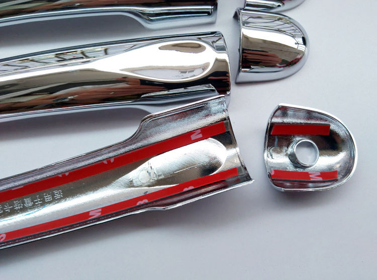 Free shipping For Renault Samsung QM3  Captur  2014 2015 door handle cover ABS Chrome 8pcs car accessories (5)