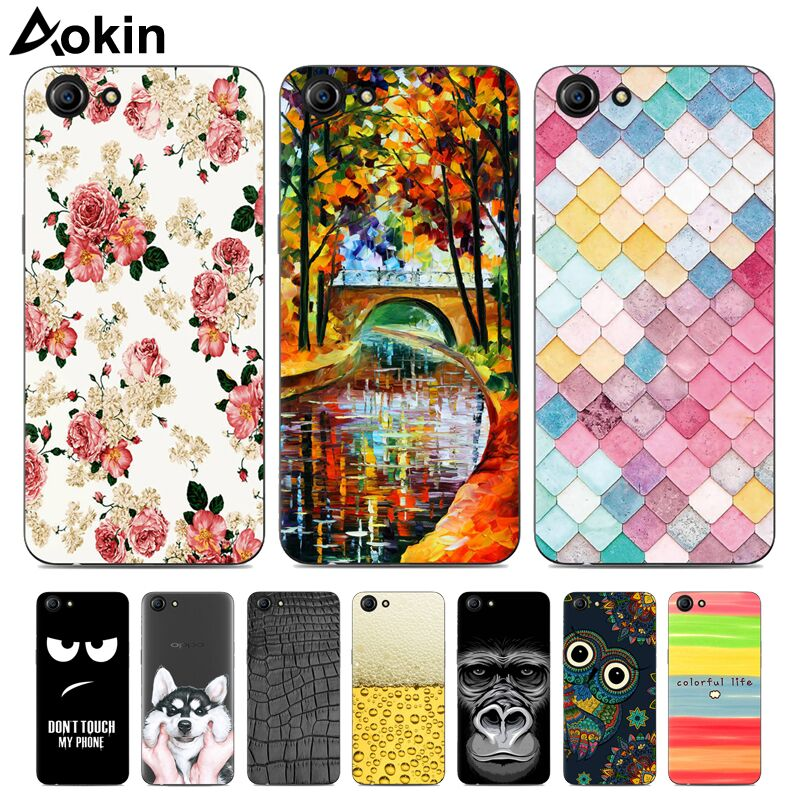 Aokin TPU Silicon Soft Pattern Phone Cases For OPPO A83 Fashion Transparent  Slim Cover for OPPO A83 A 83 5 7 inch A83T A83M Capa