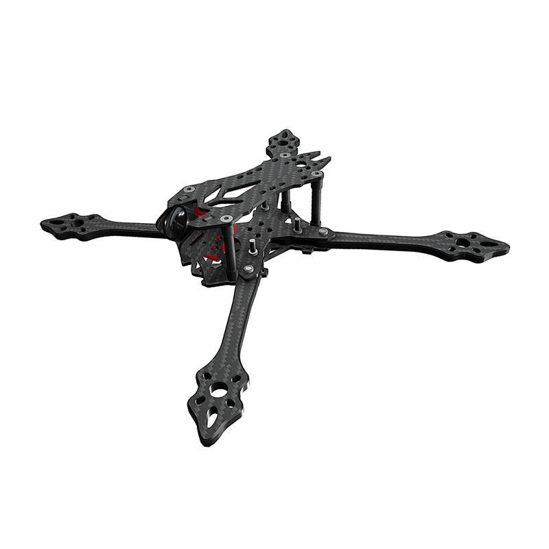 BCROW VX215PRO 215mm / ZX220PRO 220mm / FS235 235mm Strech X Type 5mm Frame Arm Carbon Fiber Frame Kit For RC Models Multicopter tator rc 3k carbon fiber plate 3 5mm tl2900
