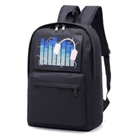 WILIAMGANU Men Backpack 2019 Travel Night Glow Backpack Luminous Casual Nylon Large Capacity School Bag For Student High Quality