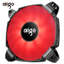 Aigo PC Case Fan 12V Single Warna Light Fan Cooler 2 Pisau Turbocharged Cooling Fan 120 Mm PMW controller Es BX12(China)
