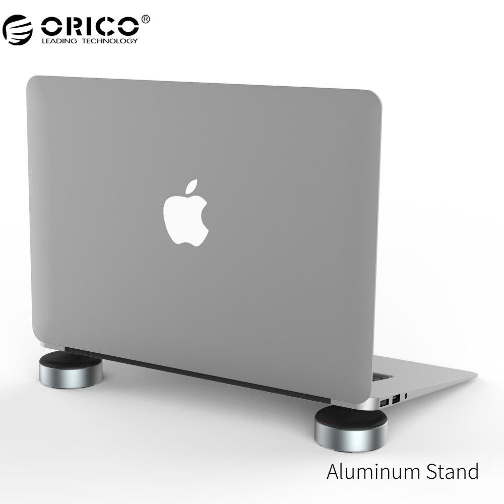 ORICO Aluminium Support pour Ordinateur Portable Portable de dissipation de Chaleur Pied pad pour Portable Universel Radiateur