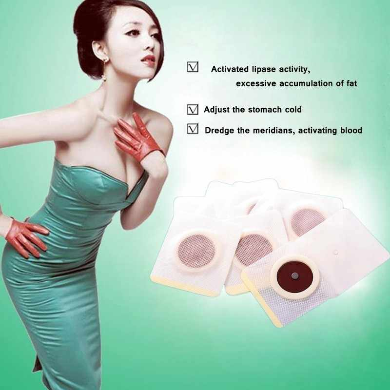 New Arrival Magnetic Slim Navel Stick Patch Diet Weight Loss Burning Sliming Body Health Beauty