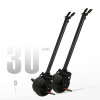 One Wheels 60v 30KM 10 Inch Mobility MSDS Certified Black Electric Scooter For Kids With Handlebar