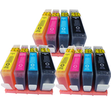 12 Compatible ink cartridges for HP 364XL Deskjet 3524 3522 3070A Photosmart 5520 5522 7510 Printer compatible ink cartridges for hp364xl for hp 364 364xl photosmart 5520 6510 6520 7510 b109 b110 b209 c310 c410 printers