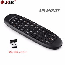 4639d1754c3 Mini USB Gyroscope Fly Air Mouse Wireless Game 2.4GHz RF Keyboard Android Remote  Controller Rechargeable For Smart Tv Box