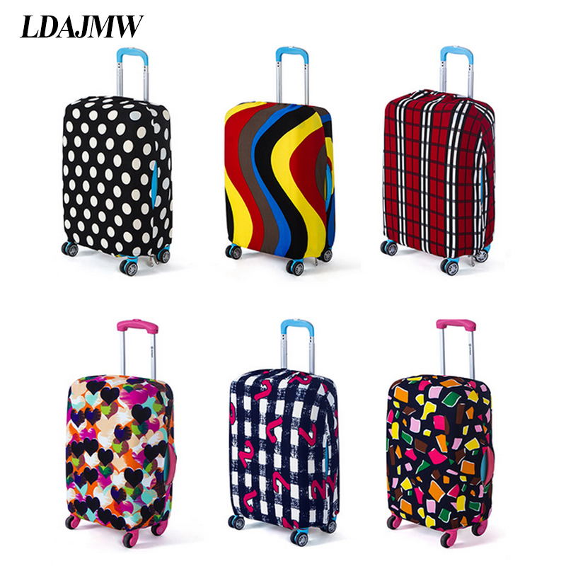 LDAJMW utazási poggyász bőrönd védőburkolat elasztikus bőrönd porvédő doboz dobozok 18 - 28 hüvelykes esetekben alkalmazhatók Szervezők