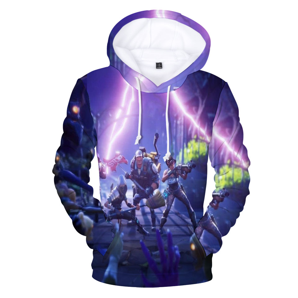 Sweatshirts Women 2018 Fortnite 3D Hoodies Womens Fashion Fortnite Mens Hoodies 3D Man Sweatshirt Plus Size 3D Harajuku Tops
