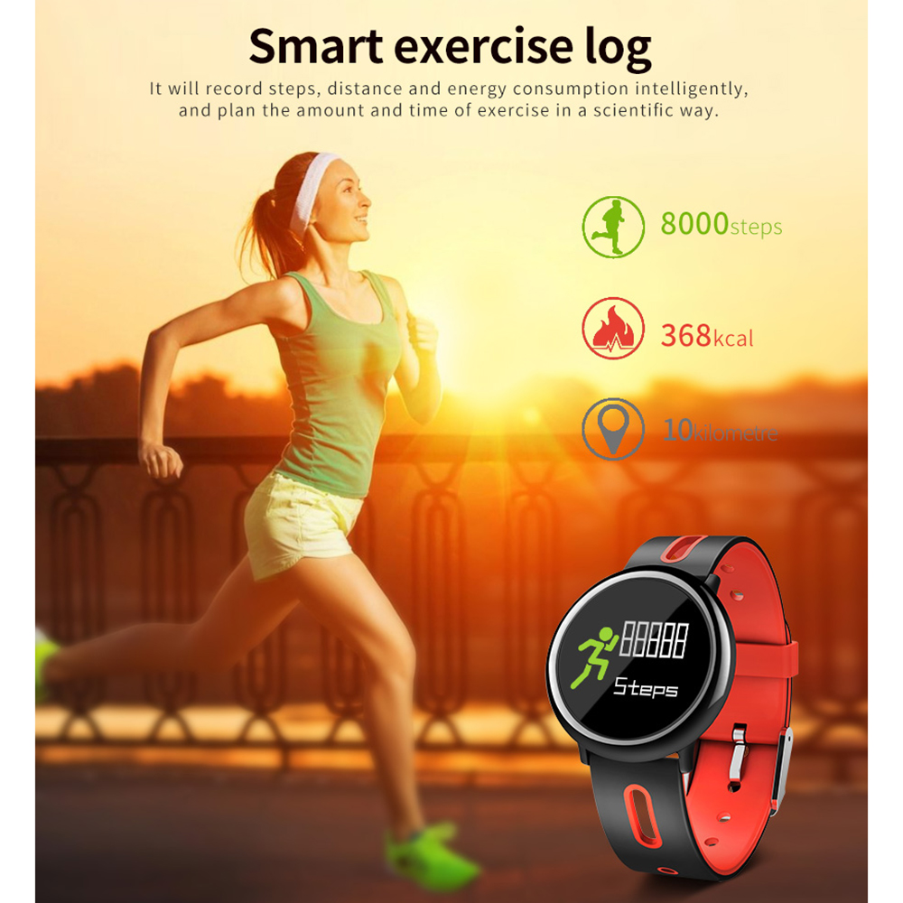 Newst Step Counter Pedometer Step Tracker Sport Tool Sleep Monitor Smart Fitness Green Color