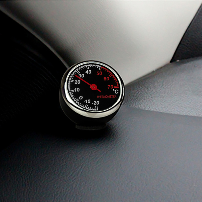 Automobiles & Motorcycles Diplomatic New Car Auto Digital Automotive Thermometer Hygrometer Durable Light Weight Watch In Car Electronic Watch Car Accessories#290812 Moderate Cost