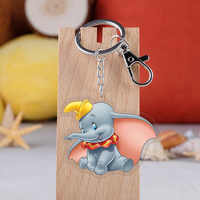 Anime Dumbo Keychain Cartoon Elephant Handmade Key Ring Collection Fans Gift