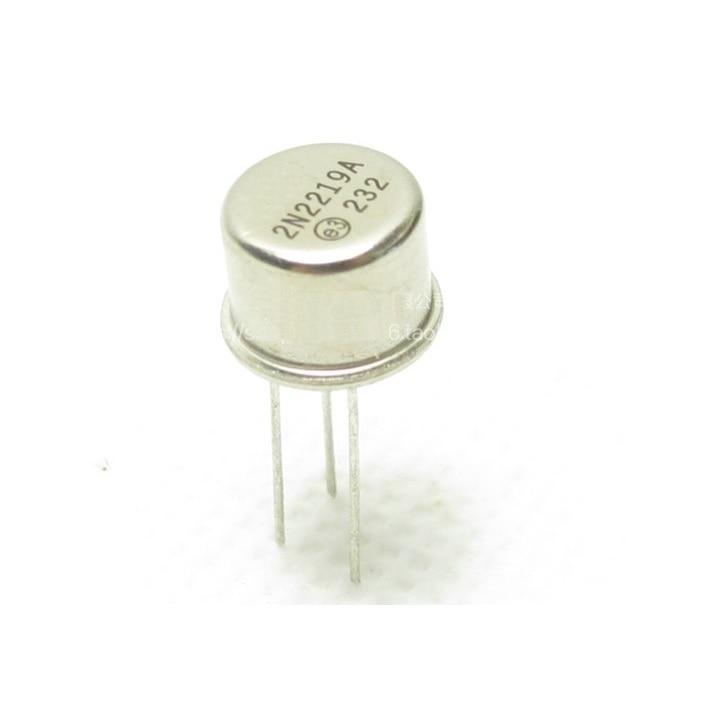 2 Pcs New 2N2219 2N2219A Transistors TO-39 MOT