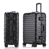 20''22''24''26''29'' Classic Rolling Luggage Aluminium Frame Trolley Solid Travel Cabin Women Boarding Case Carry On Suitcase