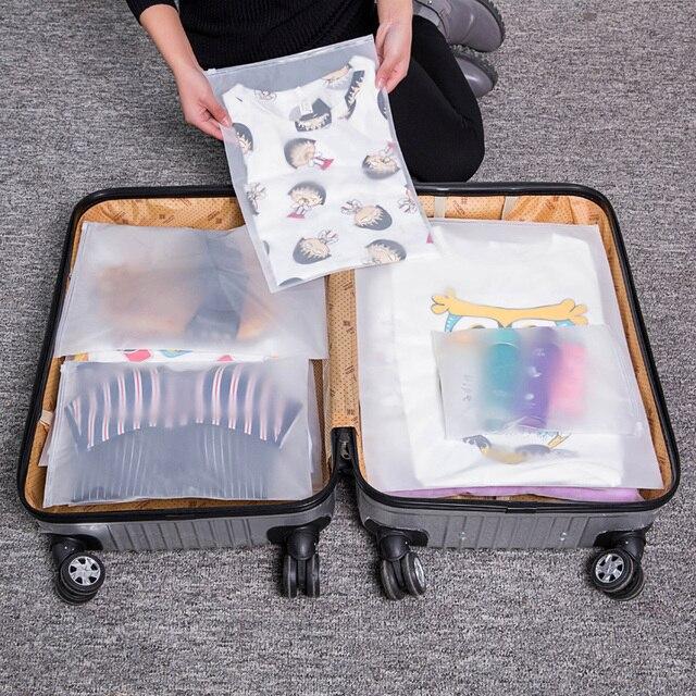 Transparente Cosméticos Saco de Viagem À Prova D' Água Mulheres Zipper Caso Homens Compõem Armazenamento Organizador de Maquiagem Bolsa de Higiene Pessoal Banho de Lavagem Kit