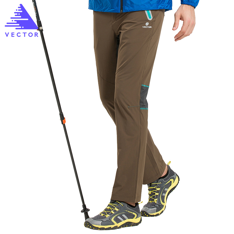 VECTOR Brand Outdoor Camping Hiking Pants Men Women Quick Dry Slim Elastic Climbing Trekking Hunting Hiking Trousers 50018 цена