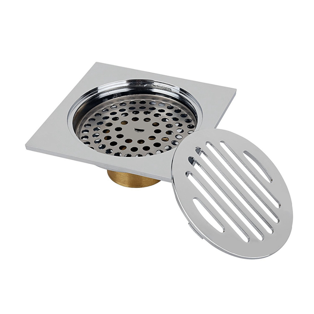 Stainless-steel-floor-drainage-shower-drainage-bath-drainage-odor-trap-shower-drain-10-x-10cm (1)