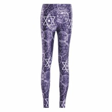 New Arrival 3654 Sexy Girl Women SpellBound symbol ouija Crafty 3D Prints Elastic Fitness Polyester Walking Leggings Pants
