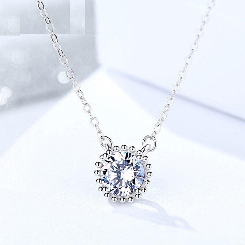 Fine Jewelry Genuine 925 Sterling Silver Female Creative Design
