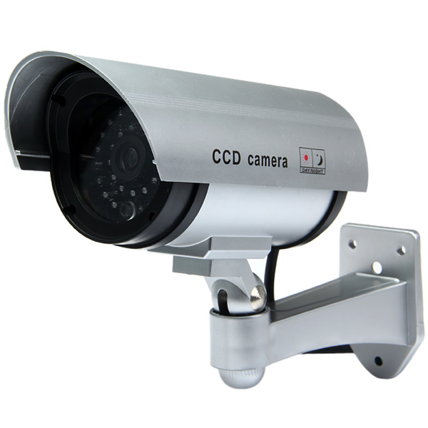 Multifunctional Dummy Camera CCTV Waterproof Security Bullet Camera CCD ith Red LED Blinking Light Indoor/Outdoor Fake Camera hot sale outdoor waterproof red led fake dummy ptz speed dome cctv security camera blinking flashing light