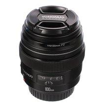 YONGNUO 100 مللي متر YN100mm F2 فتحة كبيرة متوسطة تليفوتوغرافي رئيس عدسات لكاميرات كانون EF جبل 5D 5D IV 1300D T6 760D 1300d 6d 600d 80d