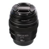 YONGNUO 100MM YN100mm F2 Large Aperture Medium Telephoto Prime Lens for Canon EF Mount 5D 5D IV 1300D T6 760D 1300d 6d 600d 80d