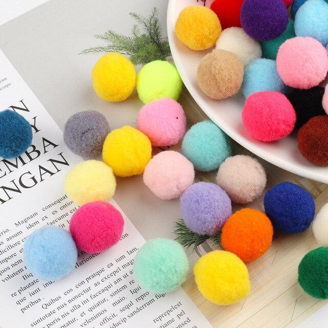 Bolas de Pompom Bola grande Fofo Em Brincos DIY Keychain Macio para Embarcações de Decoração de Festa de Casamento Bola para Casa & roupas acessórios
