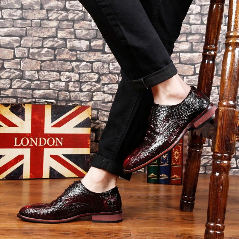British Shoes Last Alligator