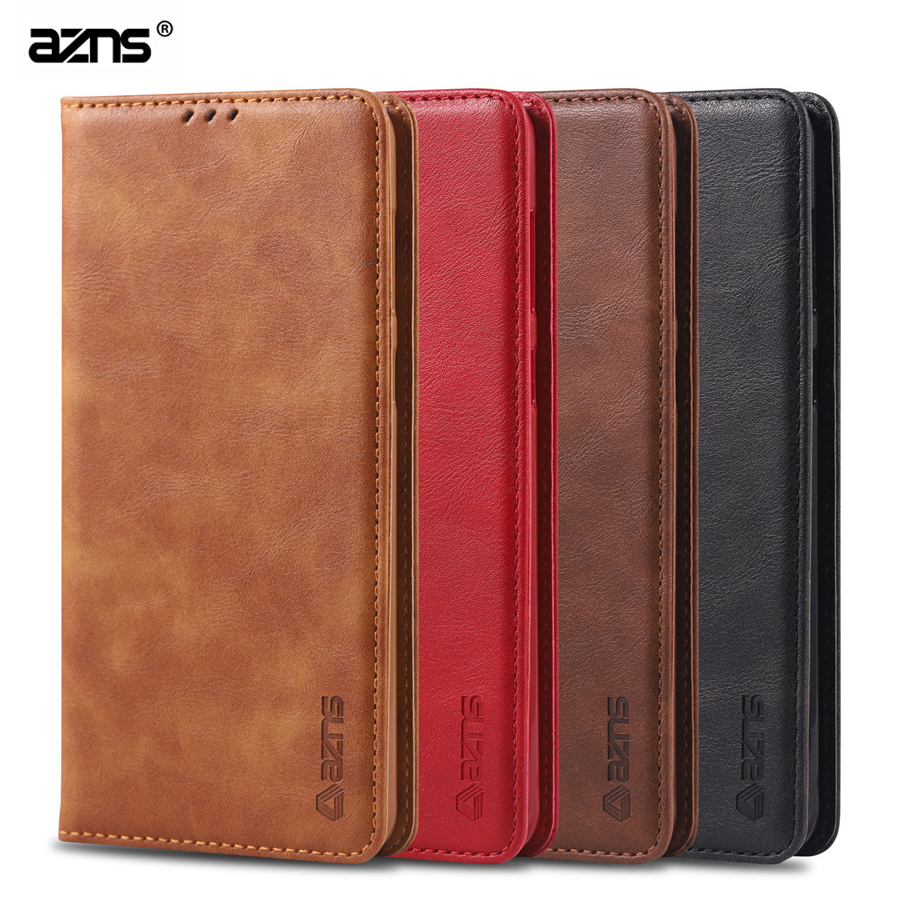 For Samsung galaxy A70 Case AZNS Flip Cases Leather Magnetic Stand Cover