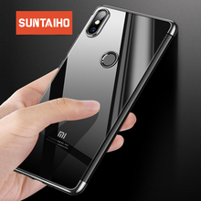 Plating Silicone soft Phone Case for xiaomi 8SE MIX2 redmi note 5 pro 5A Suntaiho Shockproof Phone Case for redmi 4X Redmi 5plus
