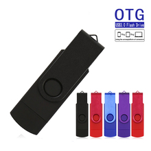 Colorful OTG Pendrive 128 GB 64 GB 32 GB Android Smart Phone USB Flash 128GB 64GB 32GB 16GB Pen Drive Personalizado Memory Stick