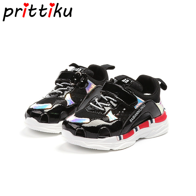 Summer 2018 Toddler Girl Boy Hollow Breathable Sneakers Little Kid Fashion Brand Trainers Big Children School Sport Casual Shoes