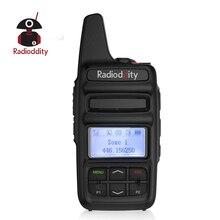 Radioddity GD 73 MỘT/E UHF/PMR Mini DMR SMS Kích Sử Dụng Tùy Chỉnh Phím IP54 USB Chương Trình & Sạc 2600 mAh 2 W 0.5 W 2 Chiều Túi Đài Phát Thanh